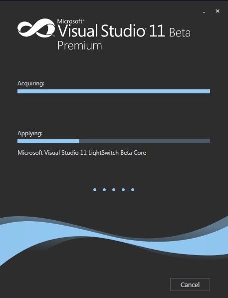 VS11 Beta Premium Applying: LightSwitch Beta Core